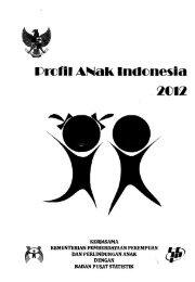 Profil anak Indonesia 2012 - PDII – LIPI