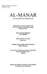 Al-Manar_Jurnal Komunikasi dan Pendidikan - PDII – LIPI