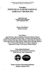 Prosiding Pertemuan Ilmiah Nasioanl Tahunan VIII ISOI ... - PDII – LIPI