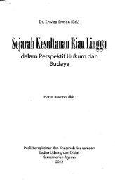 Sejarah kesultanan Riau Lingga - PDII – LIPI