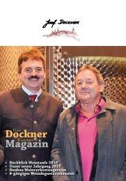 Rückblick Weintaufe 2010 - Winzerhof Dockner