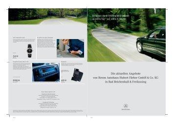 Die aktuellen Angebote von Ihrem Autohaus Hubert Färber GmbH ...