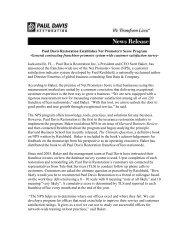 Paul Davis Restoration Establishes Net Promoter® Score Program ...