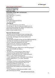 Ausschreibung - PDV Turnier Service