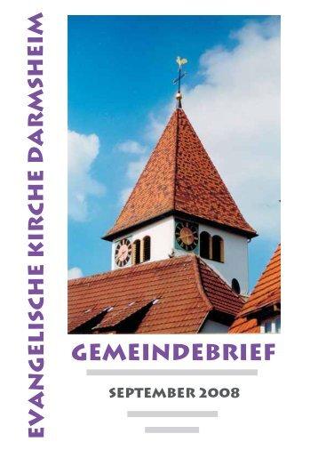 Kinders - Evangelische Kirchengemeinde Darmsheim