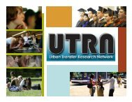 The Urban Transfer Research Network - Portland State University
