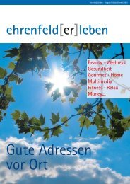 Ehrenfeld erleben