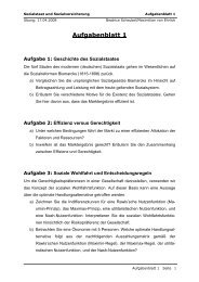 Aufgabenblatt 1