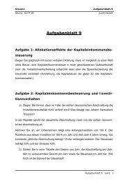 Aufgabenblatt 9