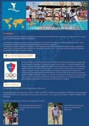 HAITI « Le Sport, c'est l'école de la vie » - Peace and Sport