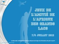 7/8 Juillet 2012 - Peace and Sport