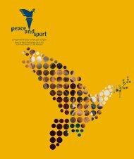 Brochure Corporate - Peace and Sport