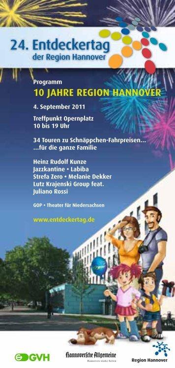 TOUR - Entdeckertag der Region Hannover
