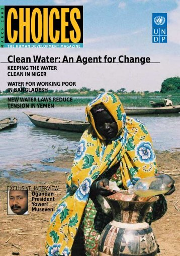 Clean Water: An Agent for Change - Peace Palace Library