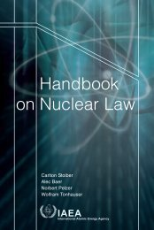 Handbook on Nuclear Law - Peace Palace Library