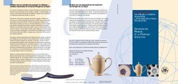 Los dibujos y modelos industriales y el Areglo de la Haya ...