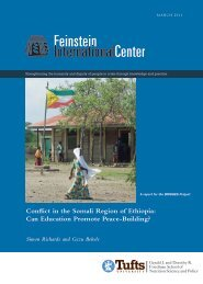 Conflict in the Somali Region of Ethiopia: Can Education Promote ...