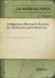 Indigenous Women's Access to Justice in Latin ... - PeaceWomen