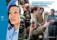 UK National Action Plan on Women Peace and ... - PeaceWomen