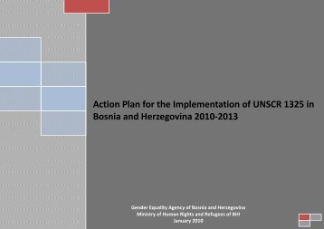 Action Plan for the Implementation of UNSCR 1325 - PeaceWomen