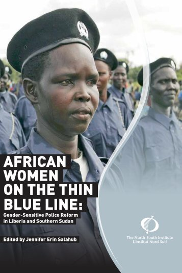 African Women on the Thin Blue Line: Gender-Sensitive Police ...