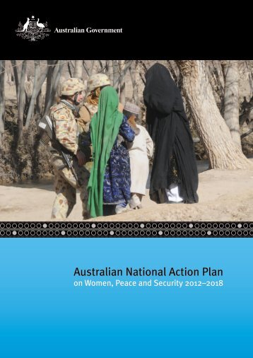 Australian National Action Plan on Women, Peace and Security 2012