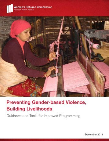Preventing Gender-based Violence, Building Livelihoods - Women's ...
