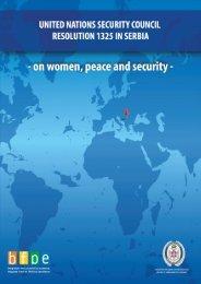 Serbia's National Action Plan on Women, Peace ... - PeaceWomen