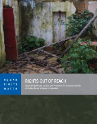 RIGHTS OUT OF REACH - Office of the High Commissioner for ...
