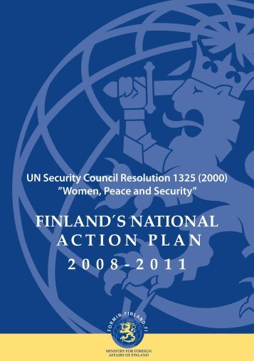FINLAND´S NATIONAL ACTION PLAN 2008-2011