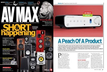Read the full review... - Peachtree Audio