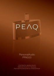 PersonalAudio PPA500