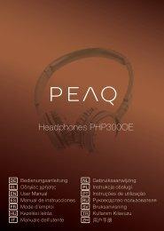 Headphones PHP300OE - PEAQ