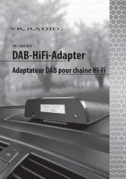 Ihr neuer DAB-HiFi-Adapter - Pearl