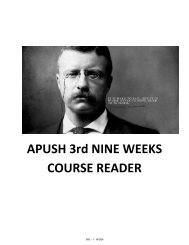 3rd 9 Week's Course Reader - OrgSites