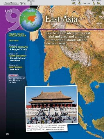E. Asia Title Page