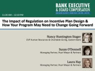 The Impact of Regulation on Incentive Plan Design & How Your ...