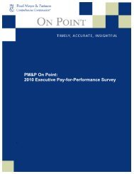 Preview the report - Pearl Meyer & Partners