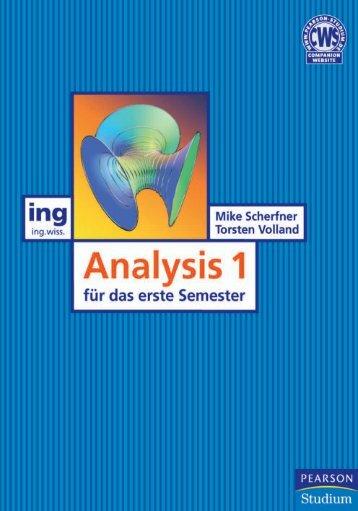 Analysis I für das erste Semester ... - Pearson Studium