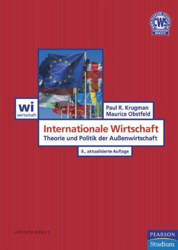 Internationale Wirtschaft  - *ISBN ... - Pearson Studium