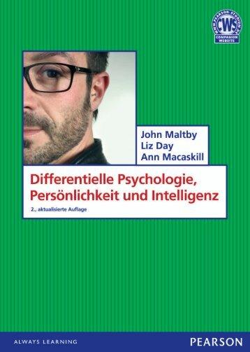 Differentielle Psychologie, Persönlichkeit und ... - Pearson Studium