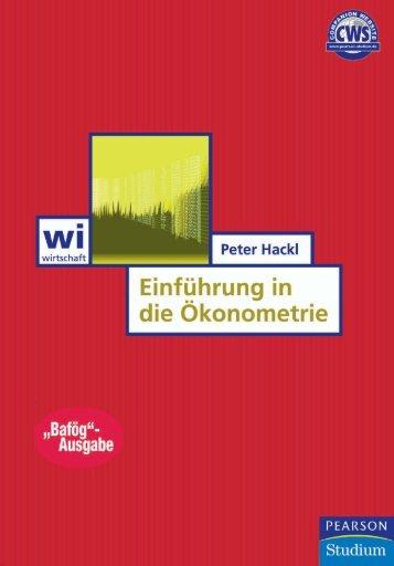 Einführung in die Ökonometrie  - *ISBN 978-3-8273 ...