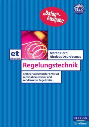 Regelungstechnik  - *ISBN ... - Pearson Studium