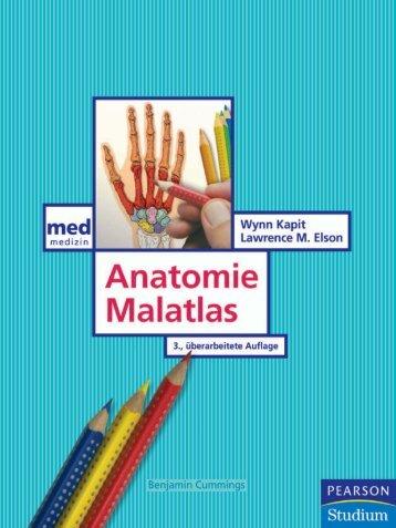 Anatomie Malatlas - Pearson Studium