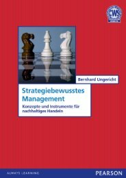 Strategiebewusstes Management - Pearson Studium