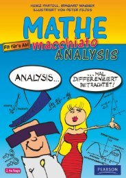 Mathe macchiato Analysis  - *ISBN ... - Pearson Studium