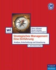 Strategisches Management - Eine Einführung ... - Pearson Studium