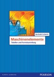 Maschinenelemente - Tabellen und ... - Pearson Studium