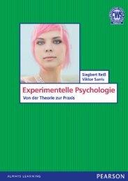 Experimentelle Psychologie *978-3-86894-147-0 ... - Pearson Studium