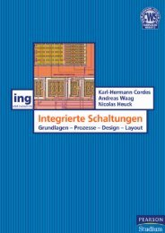 Integrierte Schaltungen  - *ISBN ... - Pearson Studium